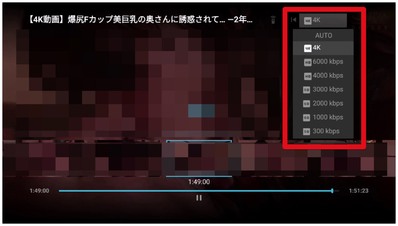 FireTVでFanazaの動画を視聴する手順6